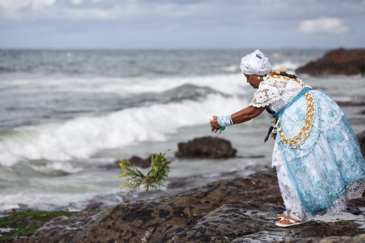 Brazil - Religion - Feast of Yemanja important annual Candomble event