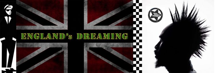 England's Dreaming banner
