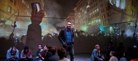 Paul Mason in Why It's Kicking Off Everywhere at the Young Vic